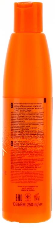 Balzám na vlasy Hydratace a výživa s UV filtrem - Estel Professional Curex Sunflower — foto N2
