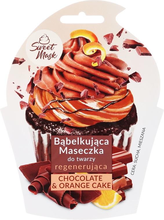 Regenerační maska na obličej - Marion Sweet Mask Chocolate Orange Cake