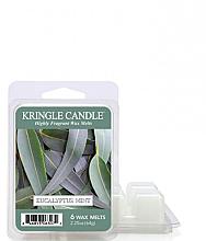 Parfémy, Parfumerie, kosmetika Vonný vosk - Kringle Candle Eucalyptus Mint Wax Melt