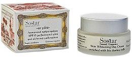 Parfémy, Parfumerie, kosmetika Denní krém na bělení pleti - Sostar Skin Whitening Day Cream SPF15 Enriched With Bio Donkey Milk