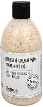 Parfémy, Parfumerie, kosmetika Sprchové mléko - Sefiros Body Peeling Cleansing Milk Orange Blossom