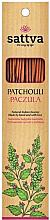 """Parfémy, Parfumerie, kosmetika Aromatické tyčinky """"Pačuli"""" - Sattva Patchouli"""