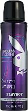 Parfémy, Parfumerie, kosmetika Playboy Endless Night For Her - Tělový deodorant ve spreji