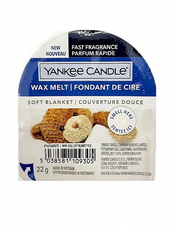 Aromatický vosk - Yankee Candle Soft Blanket Wax Melt