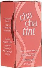 Parfémy, Parfumerie, kosmetika Tekutý pigment na rty a tváře - Benefit Chachatint (mini)
