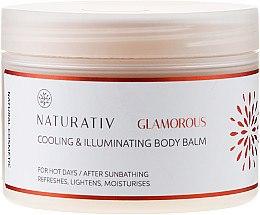Parfémy, Parfumerie, kosmetika Tělový balzám - Naturativ Cooling & Illuminating Body Balm