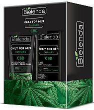 Parfémy, Parfumerie, kosmetika Sada - Bielenda Only For Men Cannabis (cr/50ml + paste/150g)