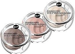 Parfémy, Parfumerie, kosmetika Hypoalergenní krémové oční stíny - Bell Hypoallergenic Shimmering Sand Bell Eyeshadow