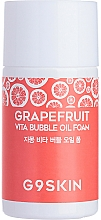 Parfémy, Parfumerie, kosmetika Hydrofilní olej s grapefruitovým extraktem - G9Skin Grapefruit Vita Bubble Oil Foam (mini)