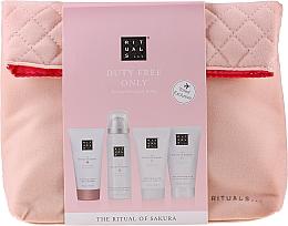 Parfémy, Parfumerie, kosmetika Sada - The Ritual of Sakura Renewing Treat (b/cr/70ml + sh/g/50ml + shampoo/70ml + b/scrub/70ml + bag)