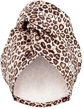Parfémy, Parfumerie, kosmetika Ručník na vlasy Leopard - Glov Hair Wrap
