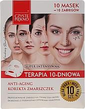 """Parfémy, Parfumerie, kosmetika Maska na obličej """"10denní terapie. Omlazení"""" - Czyste Piekno Anti-age Therapy 10 Days"""