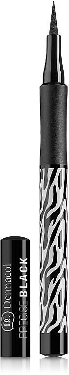 Fix na oči - Dermacol Black Sensation Precise black