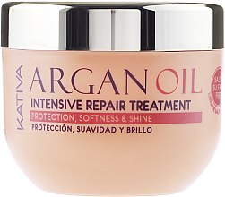 Intenzivně revitalizující hydratační vlasová maska s arganovým olejem - Kativa Argan Oil Intensive Repair Treatment — foto N5