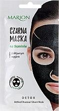 Parfémy, Parfumerie, kosmetika Pleťová maska s aktivním uhlím - Marion Detox