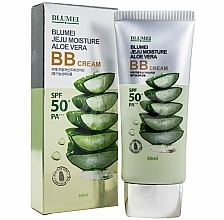 Parfémy, Parfumerie, kosmetika BB-krém s extraktem z aloe - Blumei Jeju Moisture Aloe Vera BB Cream