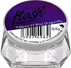 Parfémy, Parfumerie, kosmetika Lešticí pigment - Semilac SemiFlash Mirror