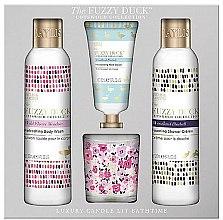 Parfémy, Parfumerie, kosmetika Sada - Baylis & Harding The Fuzzy Duck Cotswold Floral Candle Set (sh/gel/250ml + b/lot/250ml + h/cr/30ml + candle/60g)