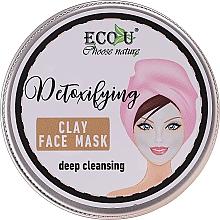 Parfémy, Parfumerie, kosmetika Pleťová maska Hluboké čištění - Eco U Detoxifying Deep Cleansing Clay Face Mask