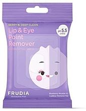 Parfémy, Parfumerie, kosmetika Micelární odličovací ubrousky na oči a rty - Blueberry Micellar 5.5 Lip & Eye Remover Pad