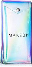 """Parfémy, Parfumerie, kosmetika Pouzdro na kartáče průhledné """"Holografické"""", 20x10x4cm - MakeUp"""