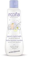 Parfémy, Parfumerie, kosmetika Večerní dětský přípravek do koupele - Roofa Good Night Bath Gel