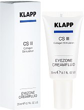 "Parfémy, Parfumerie, kosmetika Krém-fluid na oční víčka ""Kolagenová stimulace"" - Klapp Collagen CSIII Eye Zone Cream Fluid"