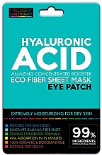 Parfémy, Parfumerie, kosmetika Náplasti pod oči - Beauty Face IST Hyaluronic Acid Eco Fiber Eye Patch