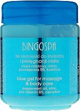 Parfémy, Parfumerie, kosmetika Chladící masážní gel proti bolesti svalů a kloubů - BingoSpa Gel Blue