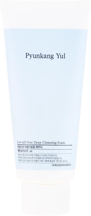 Hluboce čisticí pěna s nízkým pH - Pyunkang Yul Pore Deep Cleansing Foam — foto N2