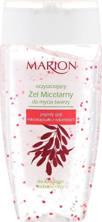 Micelární gel s jahodami goji a vitamínem E - Marion Micelar Gel