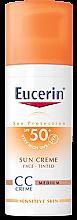Parfémy, Parfumerie, kosmetika CC Krém - Eucerin CC-creme Sunscreen for face SPF 50+