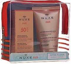 Parfémy, Parfumerie, kosmetika Sada - Nuxe Sun Set Summer Protection Ritual (cr/50ml + lot/100ml)