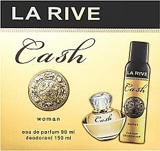 Parfémy, Parfumerie, kosmetika La Rive Cash Woman - Sada (edp/90ml + deo/150ml)