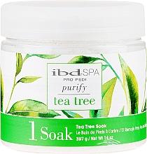 Parfémy, Parfumerie, kosmetika Sůl do koupele rukou a nohou s výtažkem z čajovníku - IBD Tea Tree Purify Pedi Spa Soak