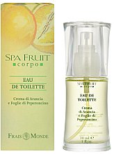 Parfémy, Parfumerie, kosmetika Frais Monde Spa Fruit Orange And Chilli Leaves - Toaletní voda