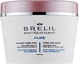 Parfémy, Parfumerie, kosmetika Čistící bahenný peeling na vlasy - Brelil Bio Traitement Pure Peeling Mud