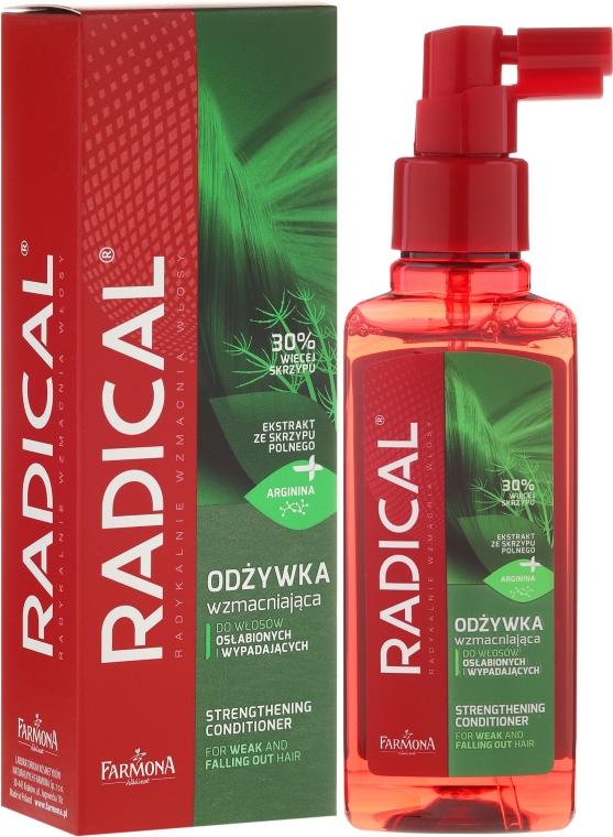Hydratační kondicionér pro slabé vlasy - Farmona Radical Strengthening Hair Conditioner — foto N1
