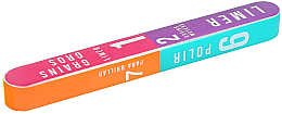 Parfémy, Parfumerie, kosmetika 7stranný buff pro nehty 178x22x16mm - Tools For Beauty 7-way Nail Buffer Block
