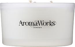 Parfémy, Parfumerie, kosmetika Aromatická svíčka Klid se 3 knoty - AromaWorks Serenity Candle 3-wick