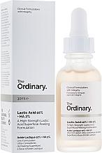 Parfémy, Parfumerie, kosmetika Peeling s kyselinou mléčnou - The Ordinary Lactic Acid 10% + HA 2%