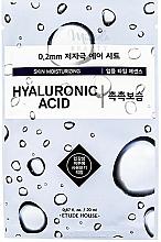 Parfémy, Parfumerie, kosmetika Ultra tenká pleťová maska s kyselinou hyaluronovou - Etude House Therapy Air Mask Hyaluronic Acid