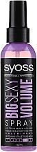 Parfémy, Parfumerie, kosmetika Sprej pro vlasový styling - Syoss Big Sexy Volume Blow Dry Spray