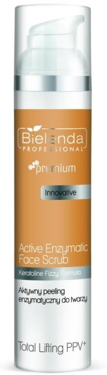 Enzymatický peeling na obličej - Bielenda Professional Premium Total Lifting PPV+ Enzymatic Active Face Peeling
