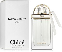 Parfémy, Parfumerie, kosmetika Chloe Love Story - Parfémovaná voda (tester s víčkem)