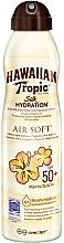 Parfémy, Parfumerie, kosmetika Tělový opalovací sprej - Hawaiian Tropic Silk Hydration Air Soft Protective Mist SPF 50