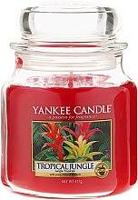 Parfémy, Parfumerie, kosmetika Aromatická svíčka ve sklenici - Yankee Candle Tropical Jungle