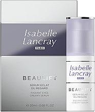 Parfémy, Parfumerie, kosmetika Regenerační sérum pro pleť kolem oči - Isabelle Lancray Beaulift Radiant Eye Creamy Serum