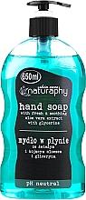 Parfémy, Parfumerie, kosmetika Tekuté mýdlo na ruce s extraktem aloe vera - Bluxcosmetics Naturaphy Hand Soap