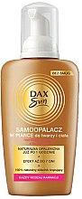 Parfémy, Parfumerie, kosmetika Samoopalovací pěna pro jakoukoliv barvu pleti - Dax Sun Self Tanning Foam
